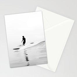 Minimal Surfing BW Stationery Cards