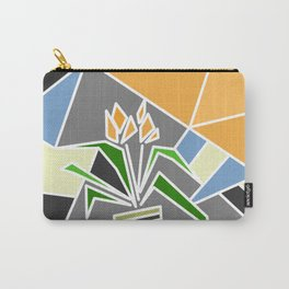 Flowers on window Carry-All Pouch