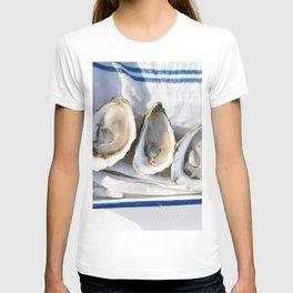 Oysters on Duxbury Bay T-shirt