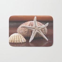 seashells 3 Bath Mat