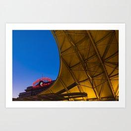 Denver Union Station Architectural Colors Art Print