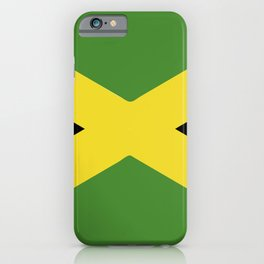 Jamaica flag emblem iPhone Case