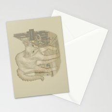 Ghost Kitty Stationery Cards