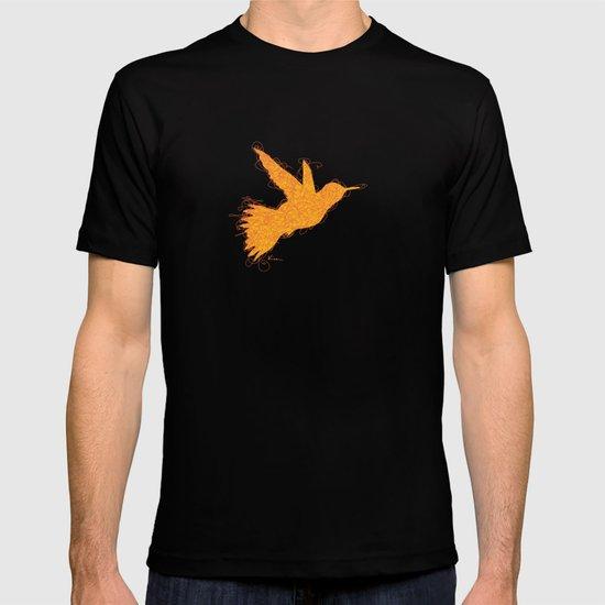 Bird Fly No. 1  (orange) T-shirt