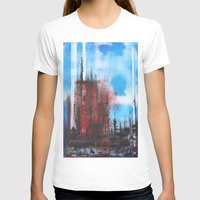 cityscape T-shirts featuring Cityscape by Alfred Raggatt