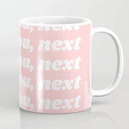 thank you, next Coffee Mug