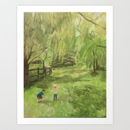 Kids will be Kids Art Print