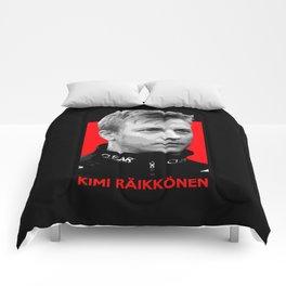 Formula One - Kimi Raikkonen Comforters