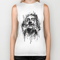 dali Biker Tanks featuring Dali by nicebleed