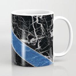 Arrows - Black Granite & Blue Granite #595 Coffee Mug