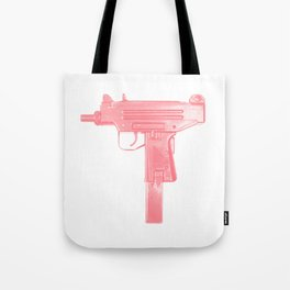 Pink machine gun Tote Bag