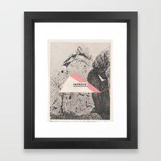 unnatural history Framed Art Print
