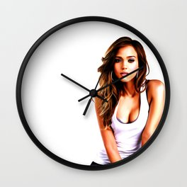 Jessica Alba - Celebrity Art Wall Clock
