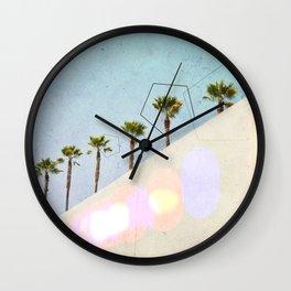 Levitated Mass (Blue) Wall Clock