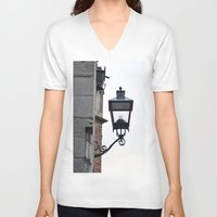 lantern V-neck T-shirts featuring Lantern by Marieken