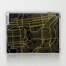 San Francisco Map Laptop & iPad Skin