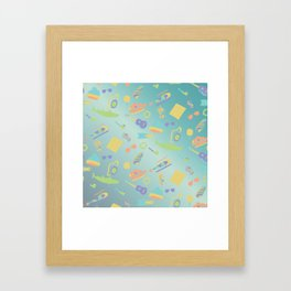 An Aquatic Life Framed Art Print