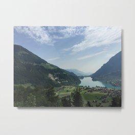 Brünig Pass. Metal Print