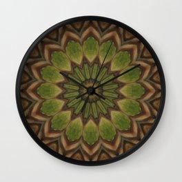 Greenwitch // Visionary Mandala Celtic Witchy Boho Bohemian Circle Nature Energy Healing Meditation Wall Clock