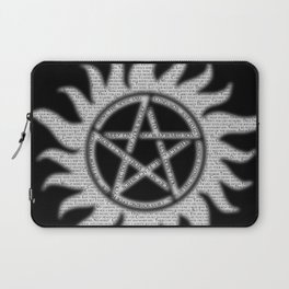Carry On Supernatural Pentacle Laptop Sleeve