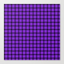 Small Violet Weave Canvas Print