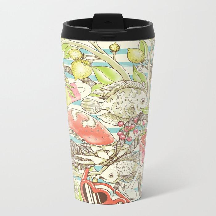 Sea, Sun and Fun - Pt. 1  Metal Travel Mug