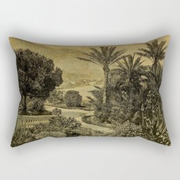 The Gardeners' Chronicle 1874 Rectangular Pillow