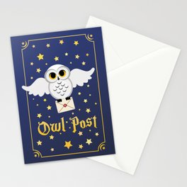 Owl Post - Cards Stationery Cards