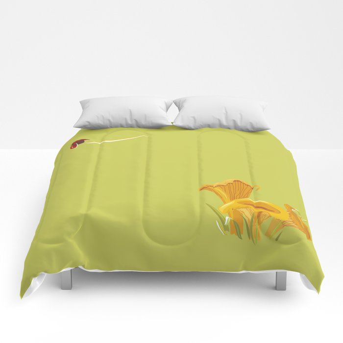 Chanterelles Comforters