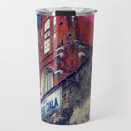 Cracow Kazimierz art Travel Mug