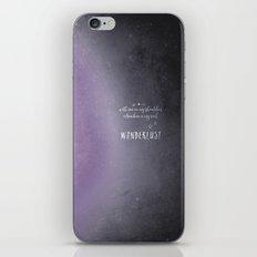 wander {violet iPhone & iPod Skin