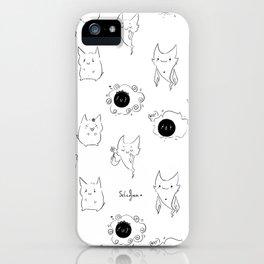 Ghost Trio iPhone Case