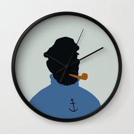 3 colours Haddock Wall Clock