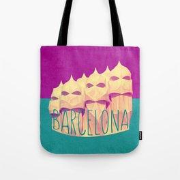 Barcelona Gaudi's Paradise Tote Bag