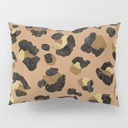Leopard Print – Neutral & Gold Palette Pillow Sham