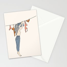 Girl Next Door Stationery Cards
