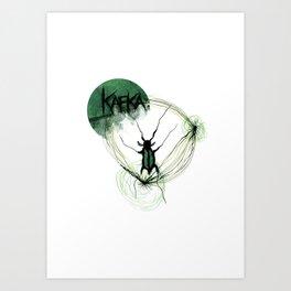 Kafka Hommage Art Print