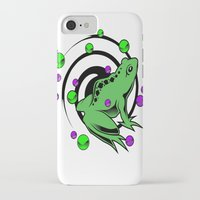 frog iPhone & iPod Cases featuring Frog  by Michael P. Moriarty