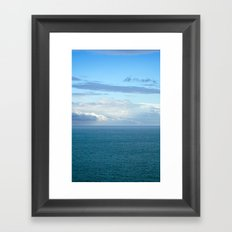 Mediterranean Sea 35 Framed Art Print