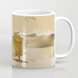 Golden Landscape Coffee Mug