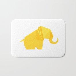Origami Elephant Bath Mat