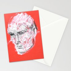 Dmitriy's head Stationery Cards