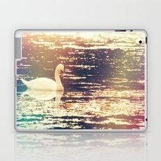 Dreamy Swan Laptop & iPad Skin