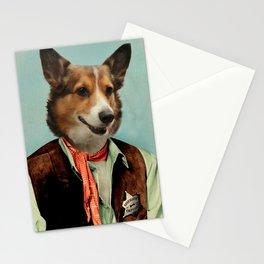 Corgi Art - Sheriff Orpheus Stationery Cards