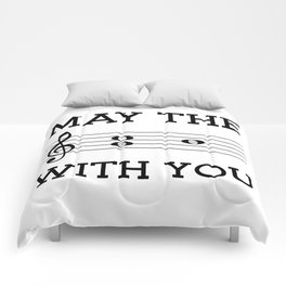 May the 4th be with you (light colors) Comforters