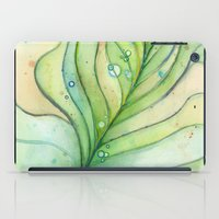 peacock feather iPad Cases featuring Peacock Feather by Olechka