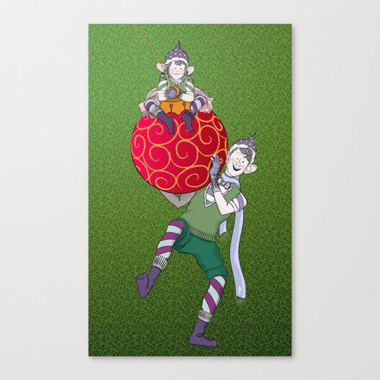Christmas Nisse Canvas Print