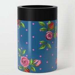 Boho Floral Can Cooler