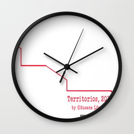 Territorios: Dragon Dance Wall Clock