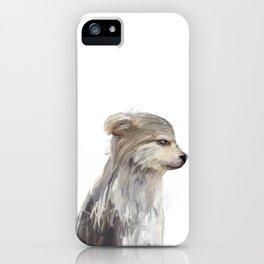 littlest wolf iPhone Case